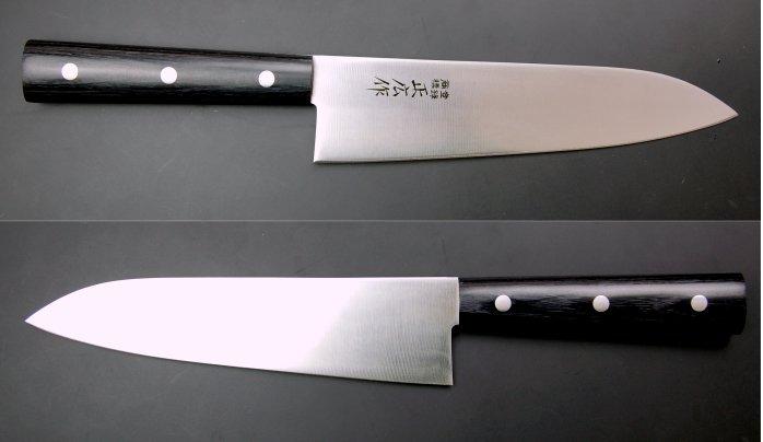 正広 丸柄剣型包丁180mm-01-02