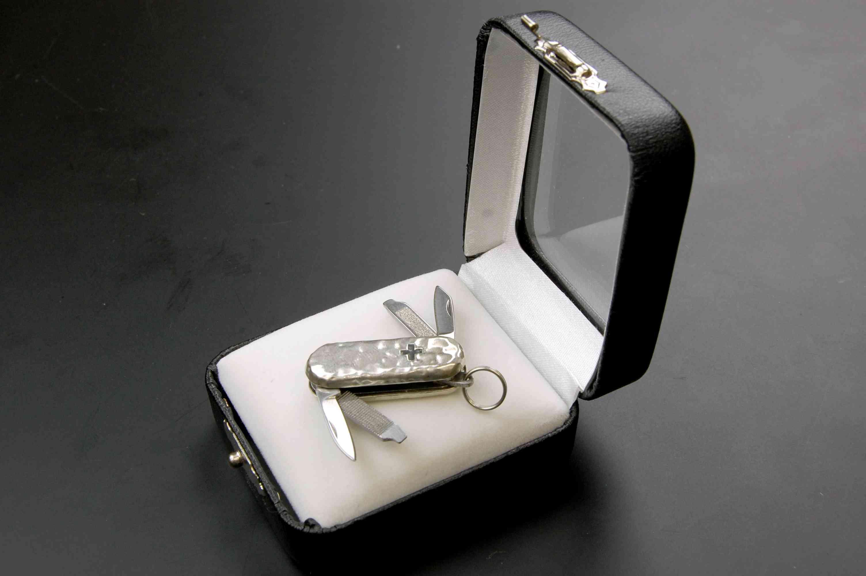 EG純銀ジッパーナイフ
